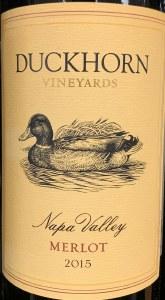 Duckhorn Merlot Napa Valley 2017(750ML)