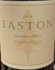 Easton Amador County Zinfandel 2014 (750ml)