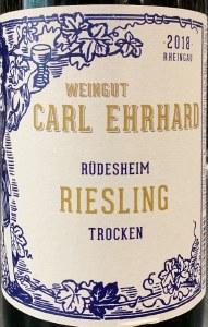 Carl Ehrhard Rudesheim Riesling Trocken 2018 (750ml)
