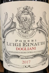 Luigi Einaudi Dolcetto di Dogliani 2018 (750ML)