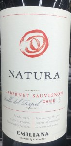 "Emiliana ""Natura"" Cab Sauv Casablanca Valley Organic (750ML)"