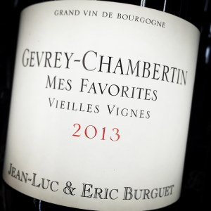 Jean-Luc & Eric Burguet Gevrey Chambertin 'Mes Favorites' 2013 (750ml)