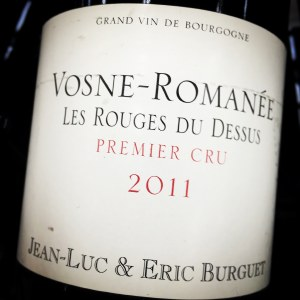 Jean Luc & Eric Burguet Vosne Romanee 1er Cru Les Rouges du Dessus 2011