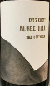 """Eve's Cidery """"Albee Hill"""" Still Cider NV (750ML)"""