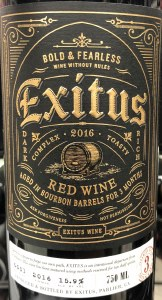 Exitus Aged in Bourbon Barrel Red Blend (.750L)