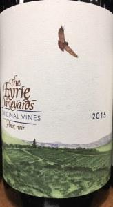 Eyrie Vineyards Pinot Noir Original Vines Dundee Hills 2015 (.750L)