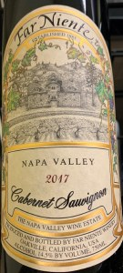 Far Niente Cabernet Sauvignon Napa Valley 2018 (.750L)