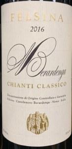 Felsina 'Berardenga' Chianti Classico 2018 (750ml)