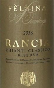 Felsina Chianti Classico Rancia Riserva 2016 (1.5L)