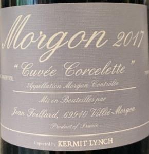 Jean Foillard 'Corcelette' Morgon Cru Beaujolais 2018 (750ML)