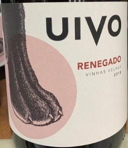 Folias de Baco Uivo Renegado Vinho Tinto Vinhas Velhas 2018 (750ml)