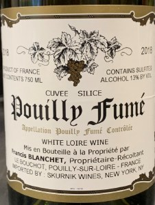Francis Blanchet Pouilly Fume Cuvee Silice 2018 (750ML)