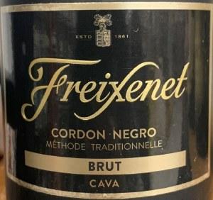 "Freixenet ""Cordon Negro"" Cava Brut Sparkling Wine NV (750ML)"