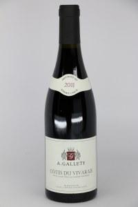 Domain Gallety Cotes du Vivarais Rouge 2011 (750ml)