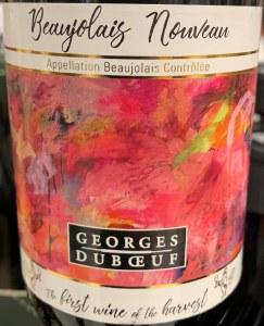 George Duboeuf Beaujolais Nouveau 2018 (750ml)