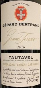 Gerard Bertrand Tautavel Grand Terroir 2016 (750ml)