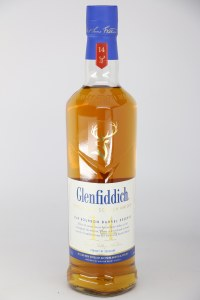 Glenfiddich Bourbon Barrel Reserve 14 Year Old Single Malt Scotch Whiskey, Speyside (750ML)