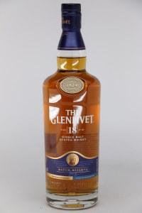 "Glenlivet ""18 Year Old"" Speyside Single Malt Scotch (750ML) - JM91"