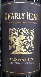 Gnarly Head 'Old Vine Zin' Zinfandel Lodi 2017 (750ml)