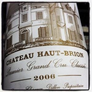 Chateau Haut Brion Pessac-Leognan Premier Cru Classe de Graves 2006 (750ML)