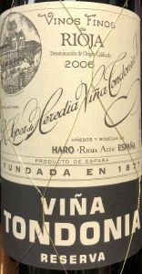 Lopez de Heredia 'Tondonia' Reserva 2006 (750ML)