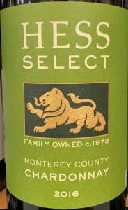 Hess 'Select' Chardonnay Monterey 2018 (750ml)