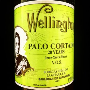 Hidalgo 'Wellington' Palo Cortado VOS 20Yrs. Sherry (500ml)
