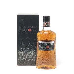 Highland Park 18 Year Old Single Malt Scotch Whiskey, Orkney (750ML)
