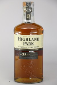 Highland Park 25 Year Old Single Malt Scotch Whiskey, Orkney (750ML)