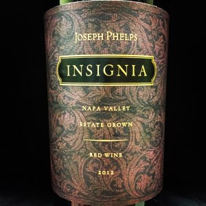 Joseph Phelps Insignia Red Blend Napa Valley 2012