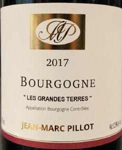 Domaine Jean-Marc Pillot Bourgogne Rouge Les Grandes Terres 2017 (750ml)