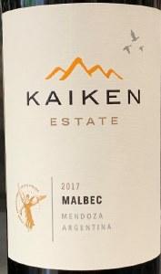 Kaiken Malbec Reserve Mendoza 2018 (750ML)