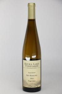 Keuka Lake Vineyards Dry Riesling 2018 (750ml)