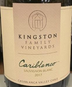 Kingston Family Vineyards Cariblanco Sauvignon Blanc 2017 (750ml)