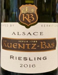 Kuentz Bas Cuvee Tradition Riesling 2018 (750ml)