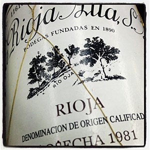 La Rioja Alta '890' Gran Reserva Rioja 1981 - 92pts WA (750ML)