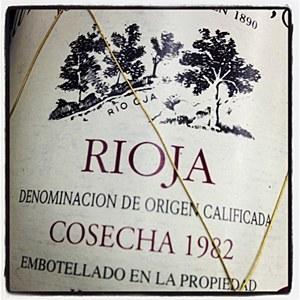 La Rioja Alta '890' Gran Reserva Rioja 1982 - 92pts WA (750ML)