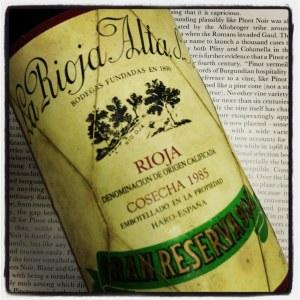 La Rioja Alta '904' Gran Reserva Rioja 1985 - 90pts WA (750ml)