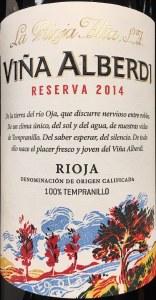 La Rioja Alta Vina Alberdi Reserva Rioja 2015 (750ml)