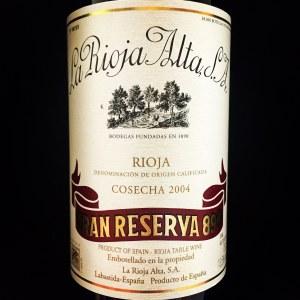 La Rioja Alta '890' Gran Reserva Rioja 2005 (750ml)