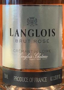 Chateau Langlois Cremant de Loire Brut Rose NV (750ml)
