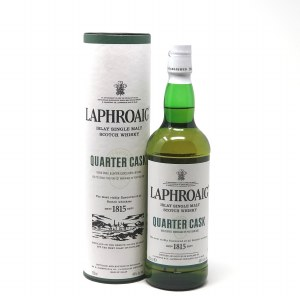 Laphroaig Quarter Cask Double Cask Matured Single Malt Scotch Whisky, Islay(750ML)