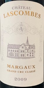 Chateau Lascombes Margaux 2009 (750ML)