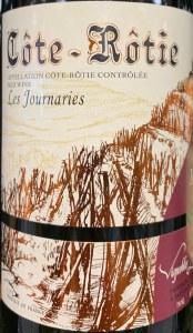 Bernard Levet Cote Rotie Les Journaries 2017 (750ml)
