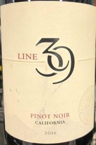 Line 39 Pinot Noir 2016 (750ml)