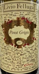 Livio Felluga Pinot Grigio Colli Orientali del Friuli 2017 (750ML)