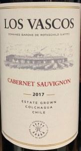 Los Vascos Cabernet Sauvignon Colchagua Valley 2018 (750ml)