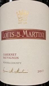 Louis Martini Sonoma Cabernet Sauvignon 2018 (750ML)