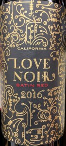 Love Noir Satin Red (750ml)
