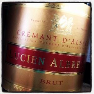 Lucien Albrecht Alsace Cremant Brut Rose Sparkling Wine NV (750ML)